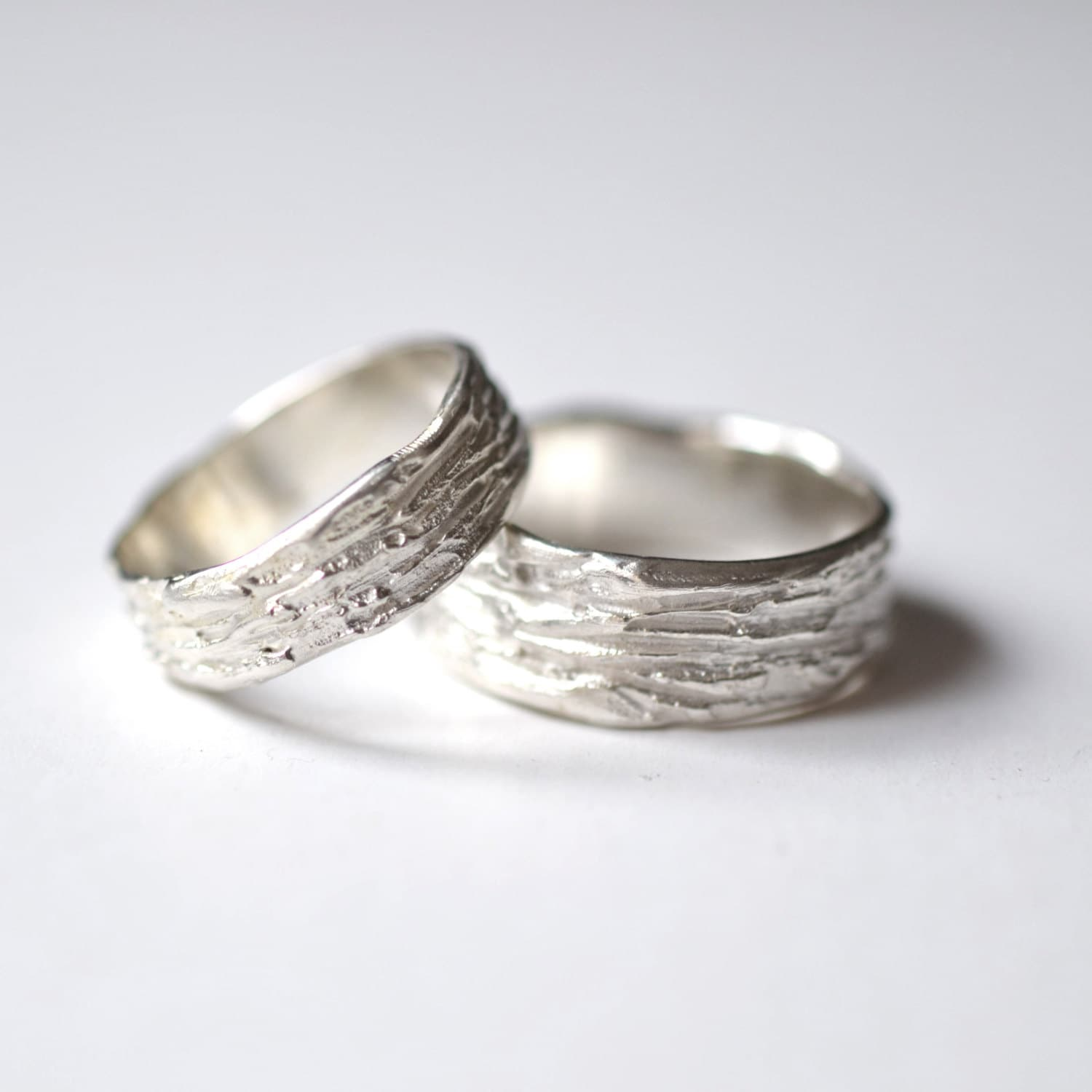 Rustic Wedding Rings Silver Textured Wedding Bands Scratched. Bride Rings. Chunky Necklace. Silver Ankle Bracelet. Lover Bracelet. Paper Pendant. Champagne Diamond Engagement Rings. Large Diamond Stud Earrings. Hood Earrings