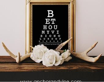 Be My Vision // Print