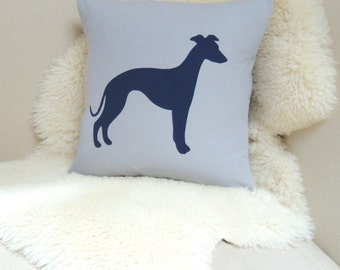 Whippet Pillow Cover - Modern