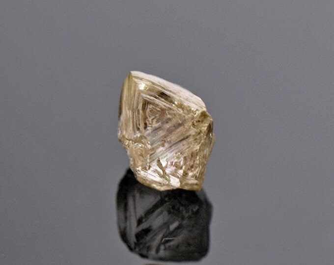 Aesthetic Sharp Natural Diamond Crystal from Russia 0.71 cts.