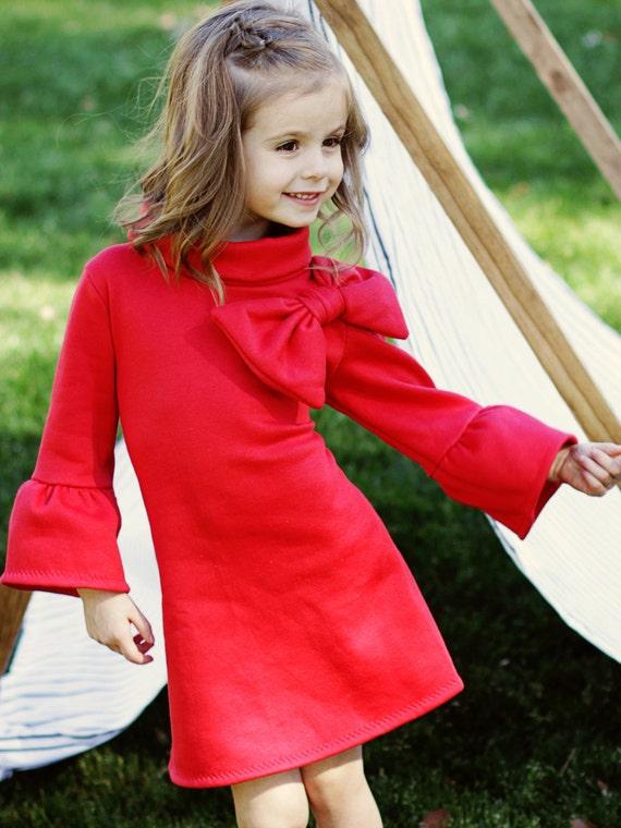 Childrens Sewing Pattern pdf, Girls Dress Pattern, Tunic Pattern, Childrens Clothing Pattern, Kids Pattern, Dress Sewing Pattern, ELKE
