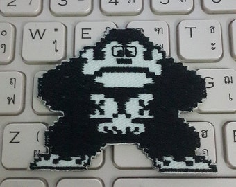 Donkey Kong Patch Video Game Patch Iron on Patch