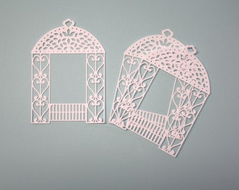 3 Gazebos/Die Cuts/Embellishments/Paper Cuts/Scrapbooking/Card Making/Yard/Wedding