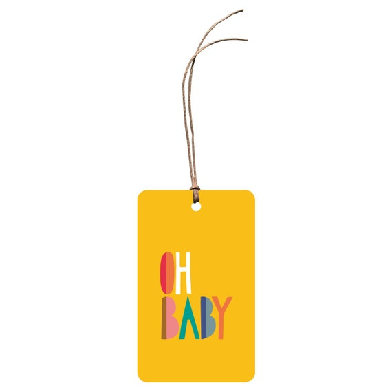 New Baby Boy Gift Tag : Gift tag oh baby new card