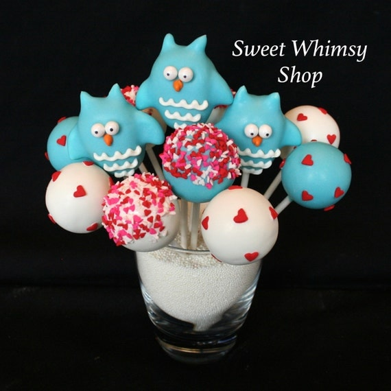 Items similar to 12 Fall Leaves Cake Pops for Autumn ... |Woodland Cake Balls