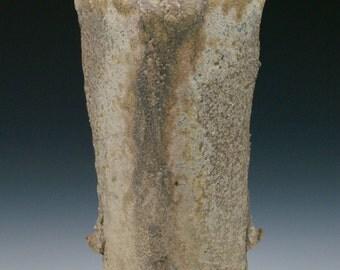 Wood fired Vase with Natural Ash Glaze #4