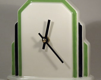 Echo of Deco Art Deco Inspired Odeon Mantel Clock