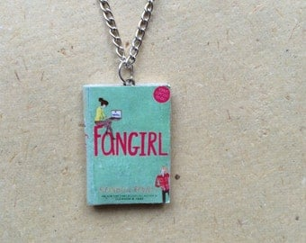 Fangirl Miniature Book Necklace