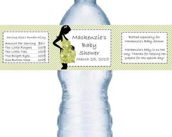 21 Mod Mom Water Bottle Labels