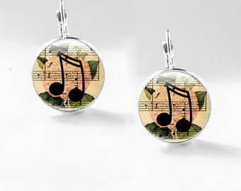 Music Jewellery Gifts - Music Gifts for Her - Music Jewellery - Musical Notes Jewellery