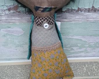Margo Handmade Art Doll