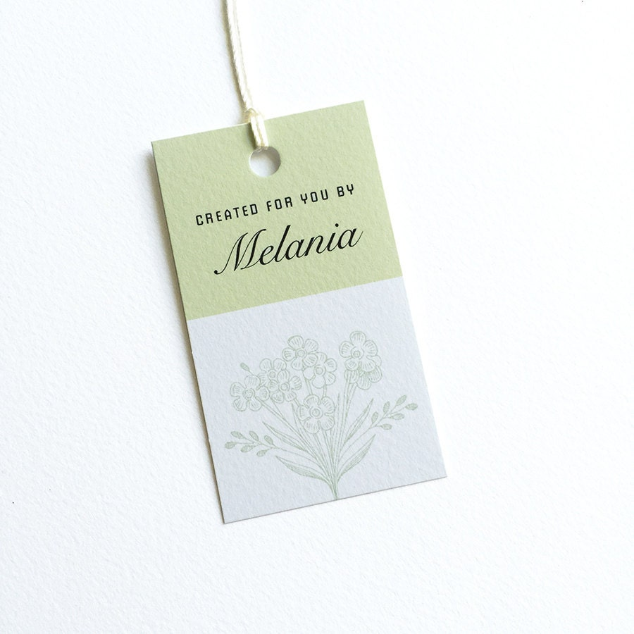 Clothing tags personalized hang tag gifts by
