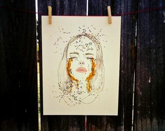 Sweet, Sweet Sorrow 8.5x11 Art Print