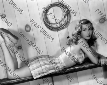 """Veronica Lake Wall Art Print of The Hollywood Movie Legends Vintage A4 (11.7"""" x 8.3"""")"""