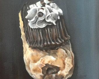Dessert painting (print) 8x10