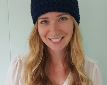 Head Warmer - Navy