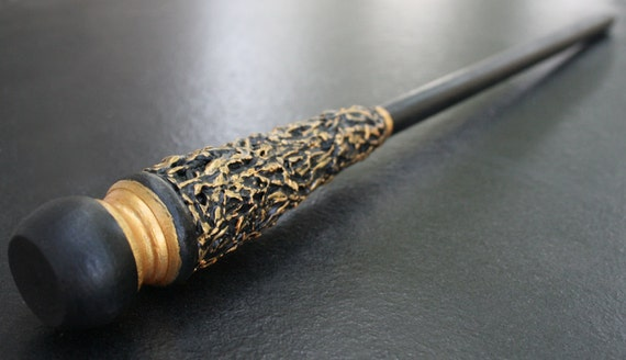 Magic wand black gold master class by madamcoyote for The master wand