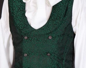 Period Style Bow Cravat Shirt - Regency, 18th Century,