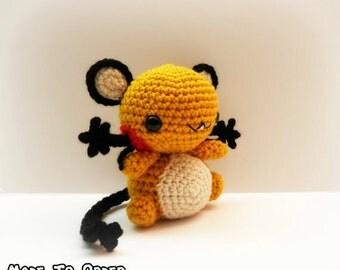 Crochet Dedenne Inspired Chibi Pokemon