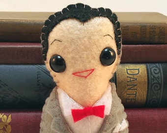 Pee Wee Herman plushie (made to order)