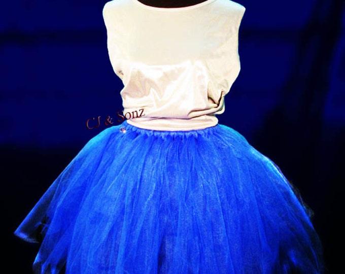 Deep Ocean Tutu Skirt