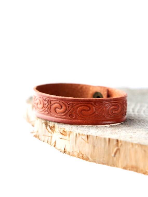 leather bracelet for him for her engraved bracelet leather