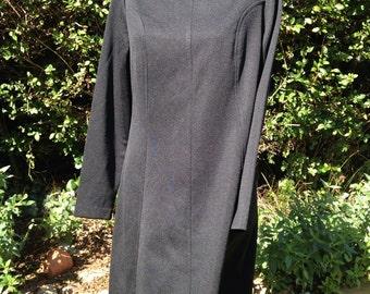 Vintage 1960s/1970s 'Mod' style black St Michael dress