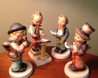 SALE! Collection of four vintage Napco boy figurines from Japan