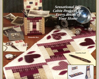 Log Cabin Traditions from House of White Birches (quilting) | House of White Birches | Craft Book