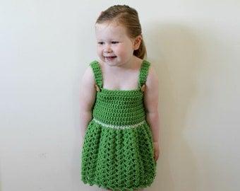 CROCHET DRESS PATTERN, Crochet Dress, Crochet Pattern, Dress Pattern, Girls Dress, Toddler Girls Dress, Baby Dress Pattern, Crochet (Pdf29)