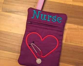 In the hoop Nurse Bag Instant Download Digital Embroidery File Design 5X7