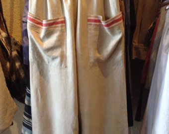 French linen pants