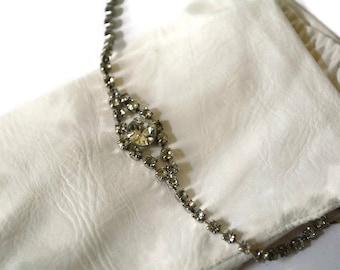 Rhinestone Bracelet,Wedding Bracelet, Vintage, Mid Century Bracelet, Something Old,Bracelet,,Brides Bracelet, Bridal Jewelry,