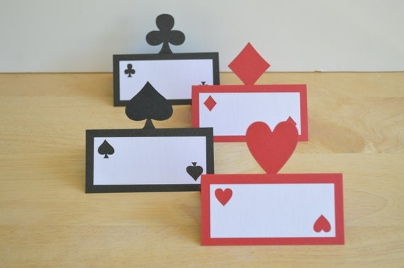 vegas place cards