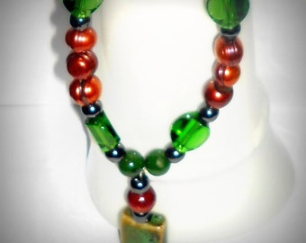 Earth Tone Necklace