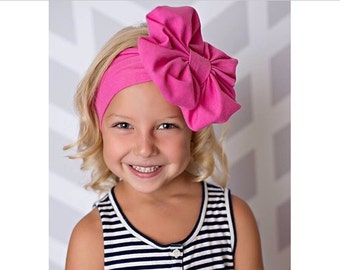 Lolly Pop Pink Floppy Bow