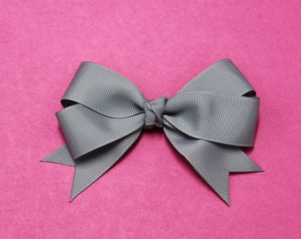 Hair Bow - Twin Tail Hair Bow - Tail Hair Bow