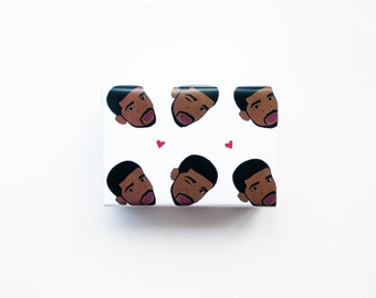 Drizzy Wrapping Paper..Wrapping Paper..Drake Wrapping Paper..Funny Gift Wrap..Funny Wrapping Paper...Holiday Gift Wrap...Christmas Gift Wrap