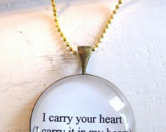 I Carry Your Heart Necklace, infant loss, child loss, miscarriage, angel baby, stillborn, baby loss gift, child loss jewelry