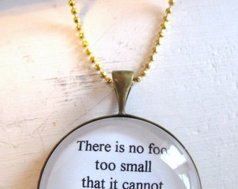 There Is No Footprint Too Small Necklace, infant loss, child loss, miscarriage, angel baby, stillborn, baby loss gift, child loss jewelry