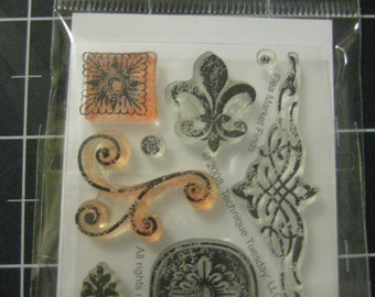 Technique Tuesday Stamp Set, Flea Market Finds, 50% goes to Chihuahua Rescue and Transport