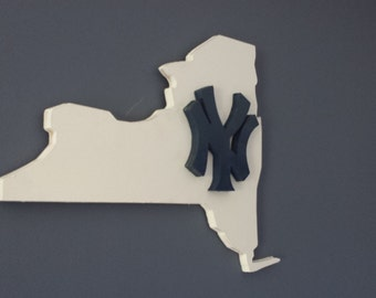 3D New York Yankees Sign / Plaque, Yankees Sign / Plaque, Wall Art, MLB Decor