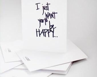 HAPPY + NAKED.