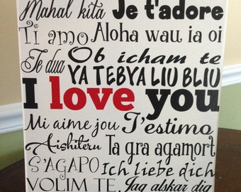 All the Ways to Say I Love You