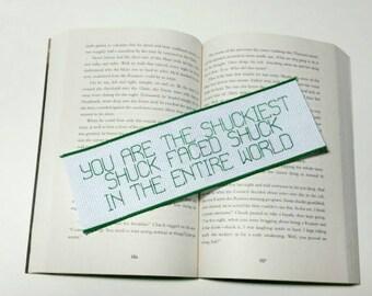 The Maze Runner Quote Cross Stitch Bookmark
