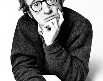 Woody Allen Poster, Comedian, Writer, Actor, Director