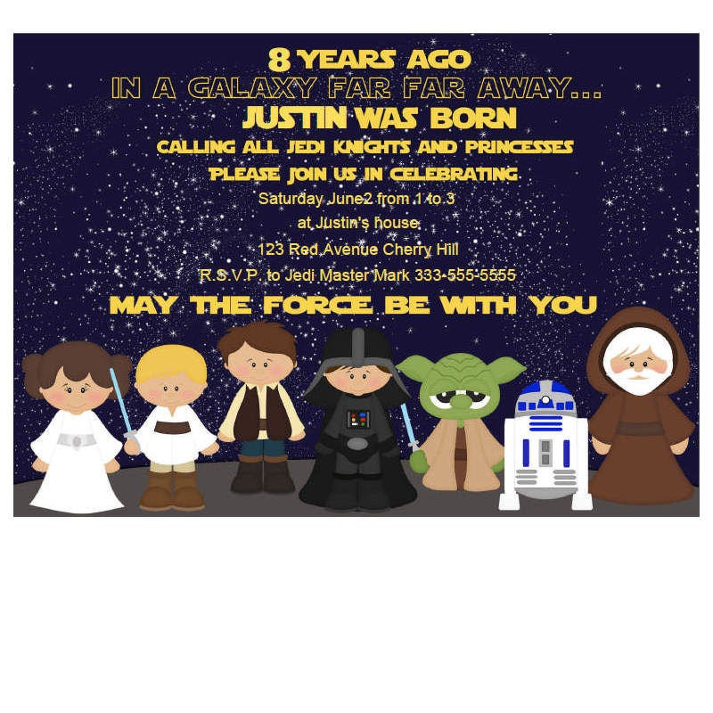 Star Wars Invitation – funpartysupply