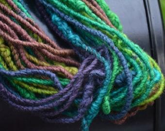 Corespun gradient yarn