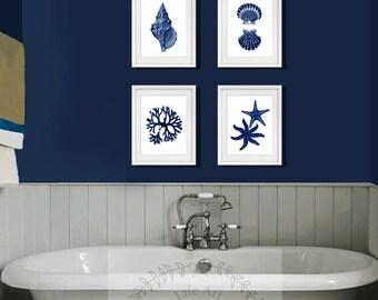 Blue Wall Art Decor navy blue wall art | etsy