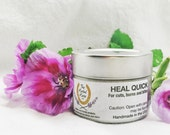 Heal Quick Organic healing salve The Herbal Horse USA for Equines and Equestrians